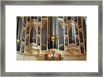 Sydney Town Hall Organ Framed Print
