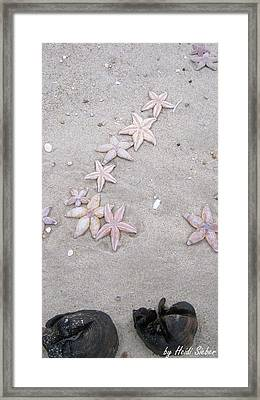 Sylt Shooting Star Framed Print