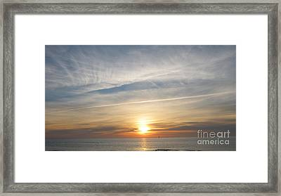 Sylt Sunset 4 Framed Print