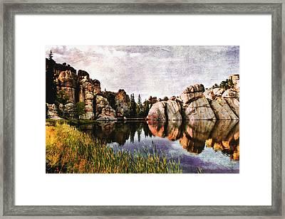Sylvan Lake - Black Hills Framed Print