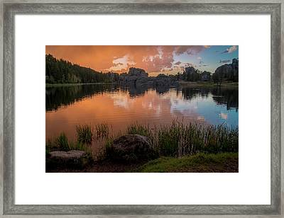 Framed Print featuring the photograph Sylvan Lake by Gary Lengyel