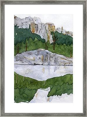 Sylvan Lake Framed Print by Heather Ahrens