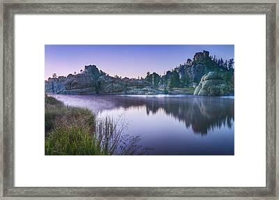 Sylvan Sunset Framed Print