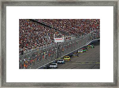 Sylvania 300 Chase Framed Print by Juergen Roth
