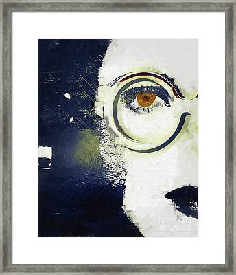 Sylvia Framed Print by Mindy Sommers