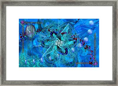 Symagery 34 Framed Print by Kenneth Armand Johnson