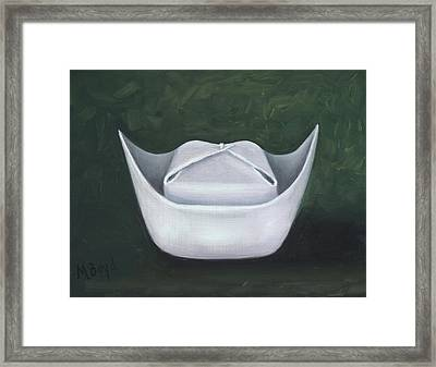 Framed Print featuring the painting Symbol Of A Proud Profession II by Marlyn Boyd