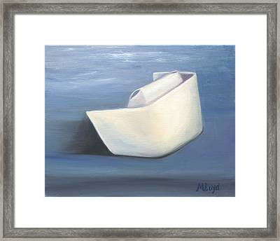 Framed Print featuring the painting Symbol Of A Proud Profession IIi by Marlyn Boyd
