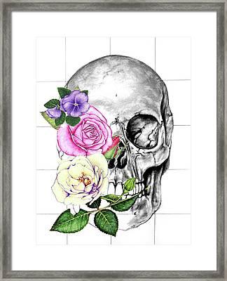 Symbol Of Change Framed Print by Heidi Kriel