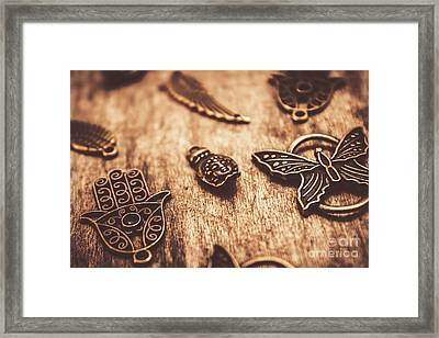 Symbols Of Zen Framed Print