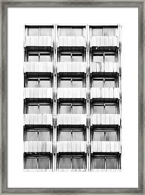 Symetry Framed Print by Gabriela Insuratelu