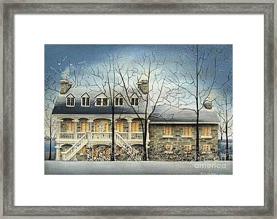 Symmes' Inn Framed Print by Catherine Holman