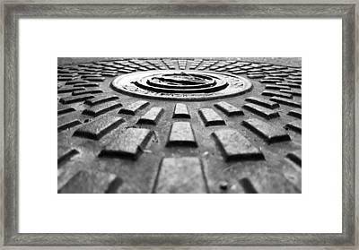Symmetrical Framed Print