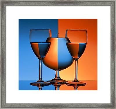 Symmetries Framed Print