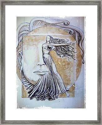 Symmetry Framed Print by Paulo Zerbato
