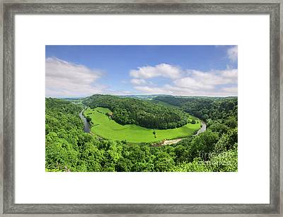 Symonds Yat, England Framed Print by Colin and Linda McKie