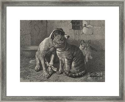 Sympathy  Framed Print by English School