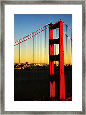 Symphonie In Steel Framed Print
