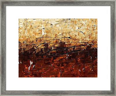 Framed Print featuring the painting Symphony by Carmen Guedez