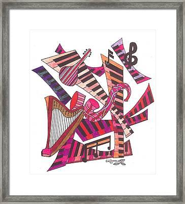 Symphony  Framed Print by Eric Devan