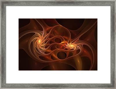 Synapse Framed Print by Doug Morgan