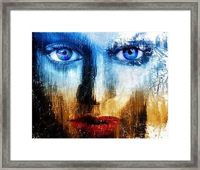 Synaptic Awakening Framed Print