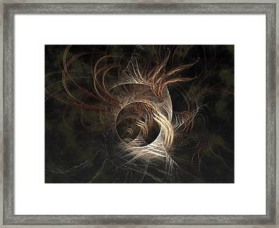 Synaptic Framed Print by Casey Kotas