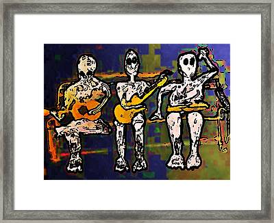 Sync Studio Couch 1 Framed Print