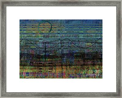 Synchronicity Framed Print by Andy  Mercer
