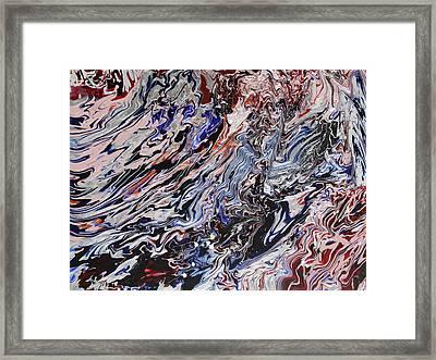 Synchronize Framed Print