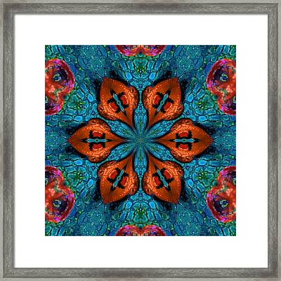 Synchronized Swimmers Framed Print