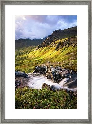 Synclavier Foothills Framed Print