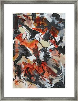 Syncopated Rhythms Framed Print