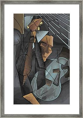 Syncopation Framed Print