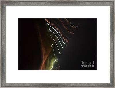 Syncronicity Framed Print by Eva Maria Nova