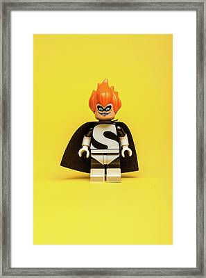 Syndrome Framed Print by Samuel Whitton