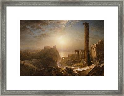 Syria By The Sea Framed Print
