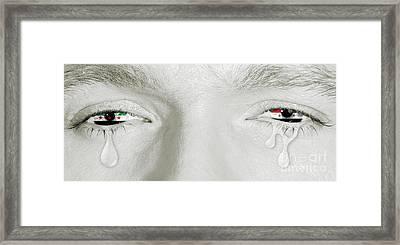 Syrian Civil War Framed Print by Benny Marty