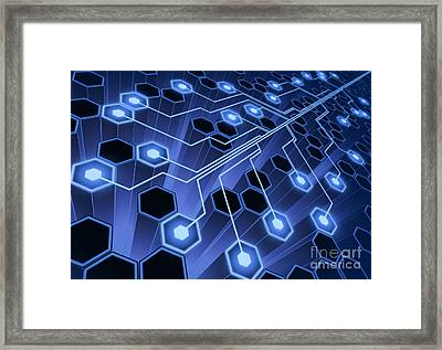System Connection Framed Print by Ktsimage
