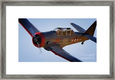 T-6 Race 89 Baby Boomer Framed Print