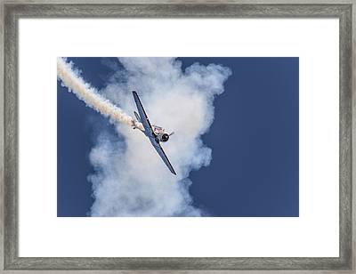 T-6 Texan Framed Print