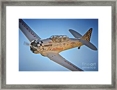 T-6 Texan Race 90 Framed Print