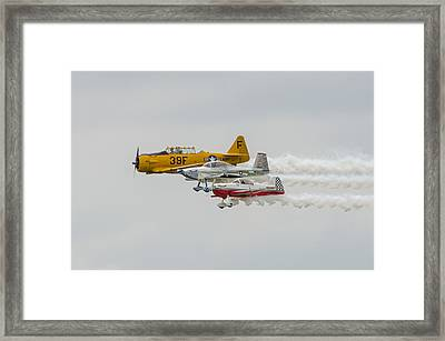 T-6 Texan   Rv-8   Dr-107 Framed Print