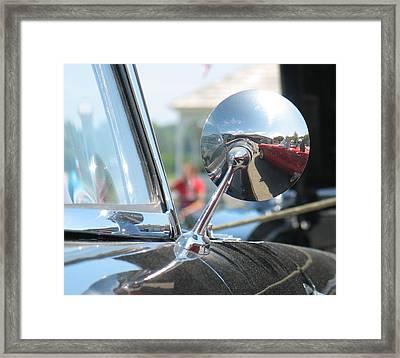 T-bird Reflections Framed Print by Kelly Mezzapelle