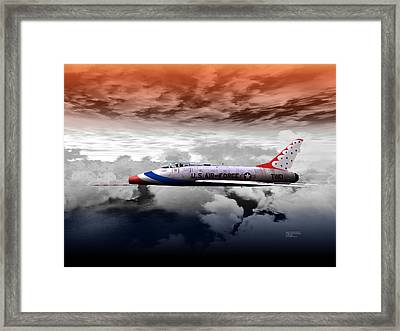 T-bird Two Framed Print
