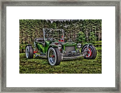T- Bucket Framed Print by High Octane Image