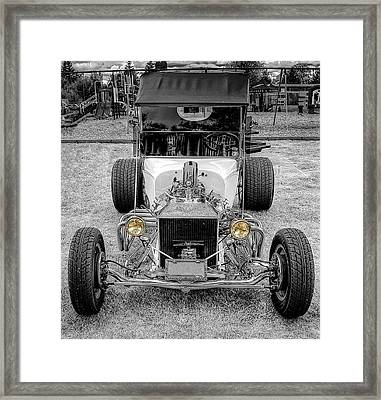 T Bucket Framed Print by Thom Zehrfeld