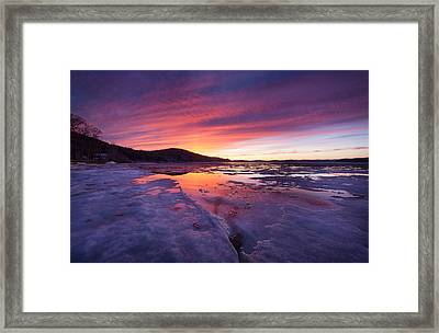 Framed Print featuring the photograph T H A W by Robert Clifford