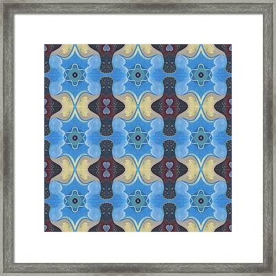 T J O D X X X Compilation 3 X 3 Framed Print by Helena Tiainen