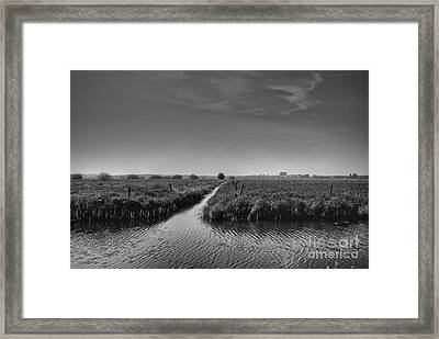 T Junction Framed Print